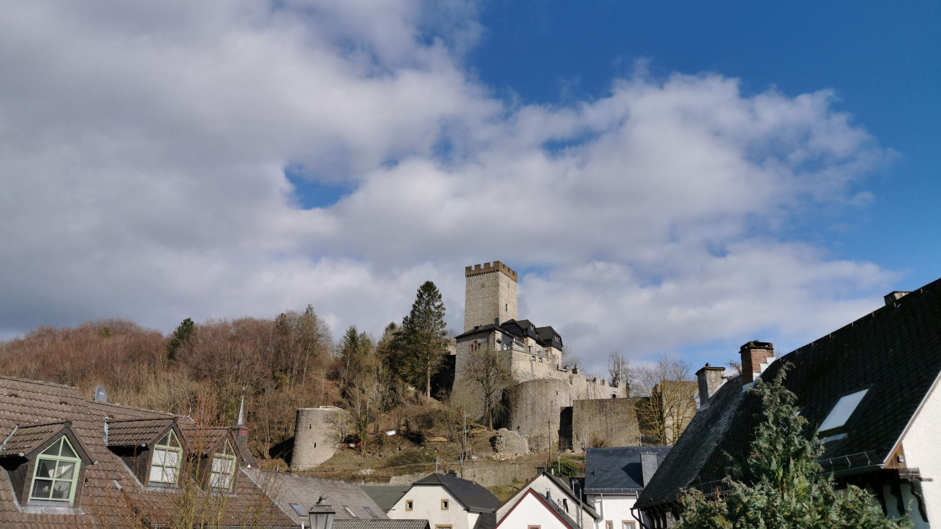 Ferienhaus Landhaus-Loogh-Umgebung Kerpen mit Burg